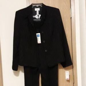 Woman's 2-piece pinstrip suit